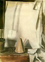 Алексей Еремеевич Карев. Конус на белом фоне