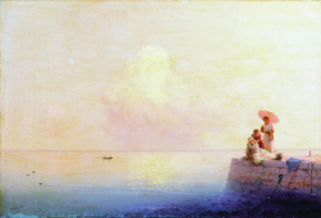Ivan Aivazovsky. A calm sea