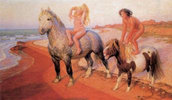 Frantisek Kupka. The Ballad Of Epona. Joy