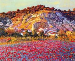 Мануэль де Грация. Летний пейзаж
