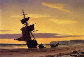 Уильям Брэдфорд. Пляж