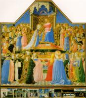 Фра Беато Анджелико. Коронование Девы Марии