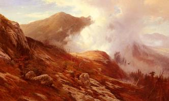 Эдвард Моран. Половина пути горы Вашингтон
