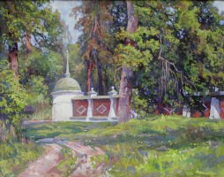 Oleg Borisovich Zakharov. May at the skete. ( Optina )