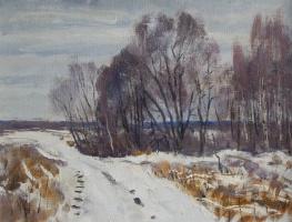Николай Алексеевич Енин. Зима