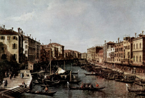 Джованни Антонио Каналь (Каналетто). Большой канал