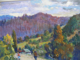 Yosif Josifovich Garani. In The Carpathians