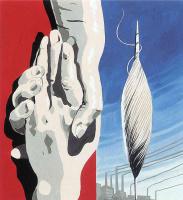 Рене Магритт. Проект плаката для Центра текстильщиков Бельгии