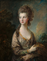 Thomas Gainsborough. The honourable Mrs Thomas Graham