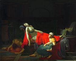 Jean Baptiste Reno. The Death Of Cleopatra