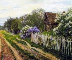 Vasily Vasilevich Pereplyotchikov. Landscape