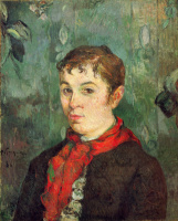 Paul Gauguin. The daughter of the owner