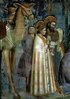 Джотто ди Бондоне. Сцены из жизни Христа. 02. Поклонение