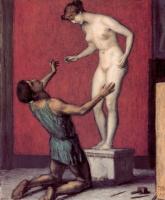 Franz von Pieces. Pygmalion