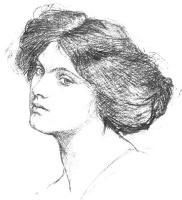 Джон Уильям Уотерхаус. Портрет женщины