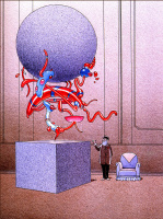 Майкл Мебиус. Синее кресло