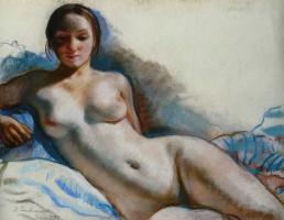 Zinaida Evgenievna Serebryakova. Nude