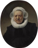 Рембрандт Харменс ван Рейн. Портрет Ахье Класдоттер