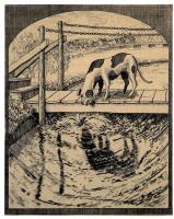 Артур Гейсерт. Собака с куском мяса