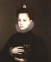 Алонсо Санчес Коэльо. Инфанта Изабелла Клара Евгения, дочь Филиппа II