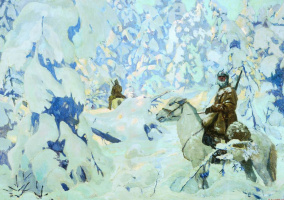 Аркадий Александрович Рылов. На страже