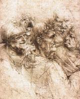 Леонардо да Винчи. Пять гротескных голов