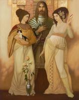Александр Мельников. Грёзы. 2008 правая часть диптиха
