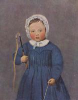 Камиль Коро. Портрет Луи Робера в детстве