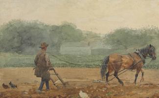 Winslow Homer. Tiller