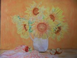 Гульнара Матюхина. Желтые цветы