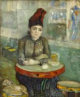 Винсент Ван Гог. Агостина Сегатори в кафе «Тамбурин»