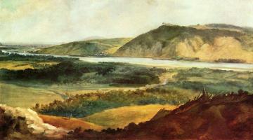 Иоганн Кристиан Бранд. Дунайский пейзаж под Веной