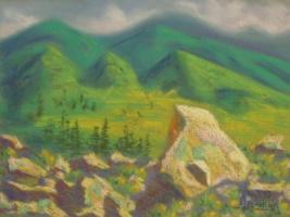 Лариса Луканева. Алтайские камни