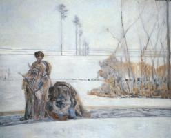 Яцек Мальчевский. Зимний пейзаж