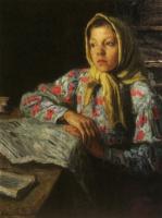 Николай Петрович Богданов-Бельский. Портрет девочки