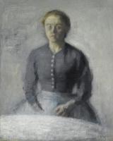 Вильгельм Хаммерсхёй. Портрет Иды