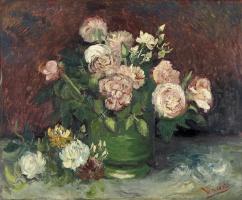 Винсент Ван Гог. Розы и пионы