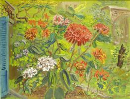 Борис Дмитриевич Григорьев. Мой сад