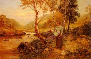 Эрнест Валбоурн. Полевые цветы