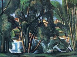 Андре Дерен. Деревья на берегу Сены