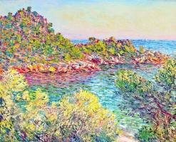 Claude Monet. Landscape near Montecarlo