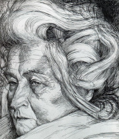 Умберто Боччони. Пожилая женщина