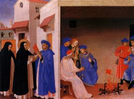 Фра Беато Анджелико. Проповедь Святого Доминика