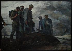 Сергей Александрович Куклин. У могилы солдата
