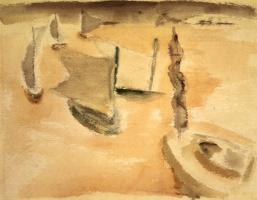Rothko Mark. Без названия (Сцена на воде)