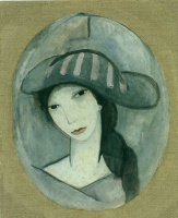Мари Лорансен. Голова женщины