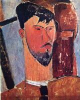 Амедео Модильяни. Портрет Анри Лорана