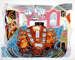 David Hockney. Tyler Dining Room