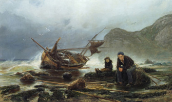 Константин Аполлонович Савицкий. Море в Нормандии