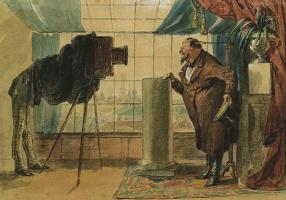 Петр Михайлович Шмельков. Купец перед фотографом